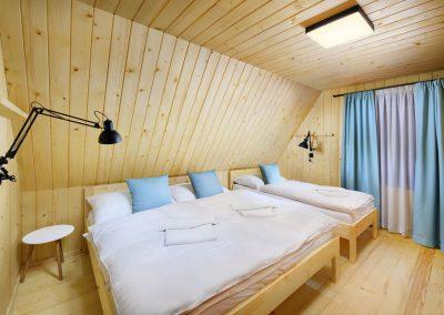 Modrá Vydra spálňa 1