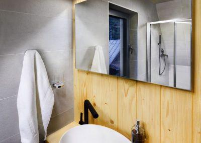 Tri Vydry kúpelňa sprcha
