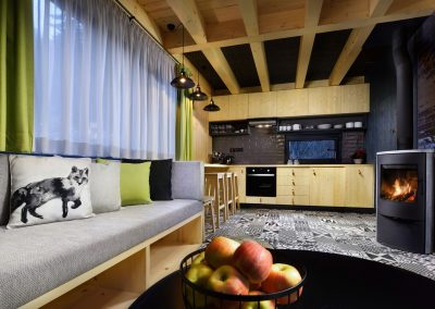 Zelená Vydra kuchyňa