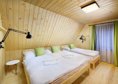 Zelená Vydra spálňa 1
