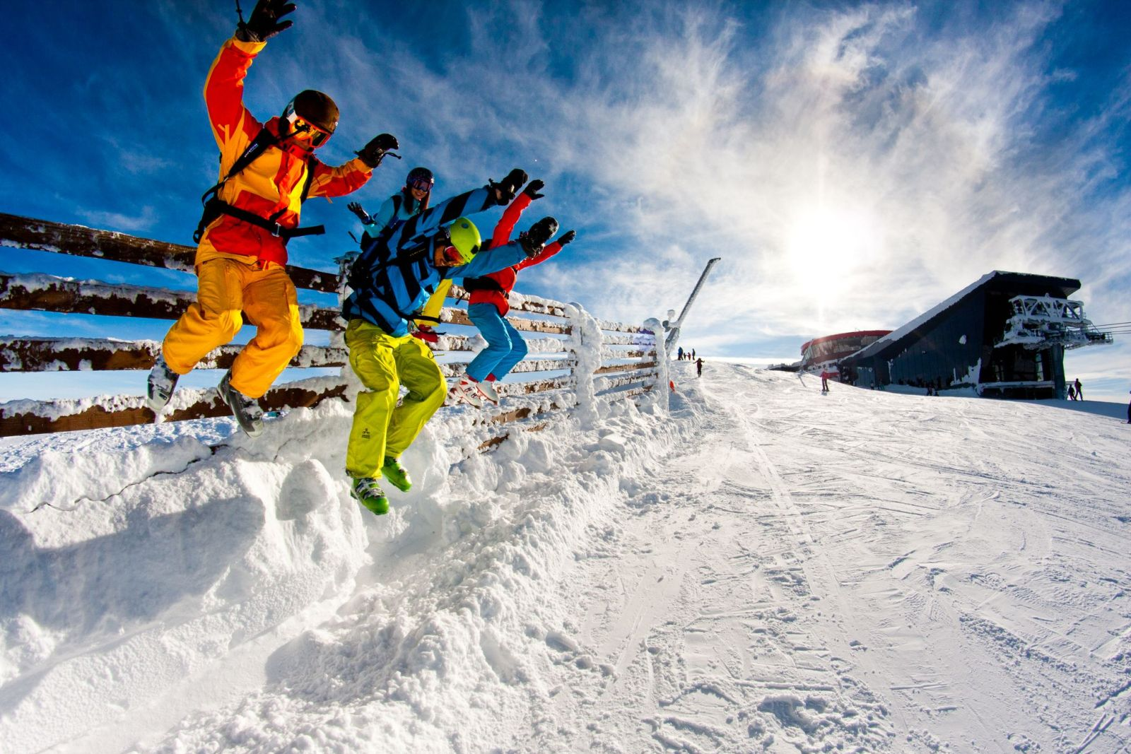 Winter activities Tále cottages Tri Vydry
